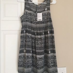 Urban Outfitters Black and White Patterned Dress